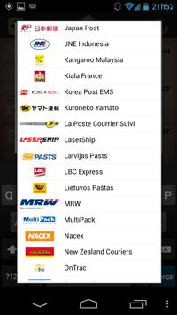 TrackPack - Mail Tracking apk screenshot