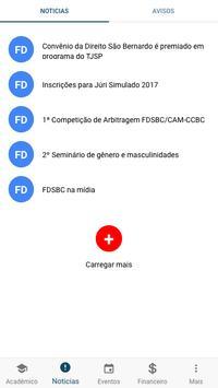 Faculdade de Direito SBC - Portal Acadêmico screenshot 1