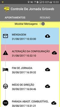 Controle de Jornada Grisweb screenshot 2