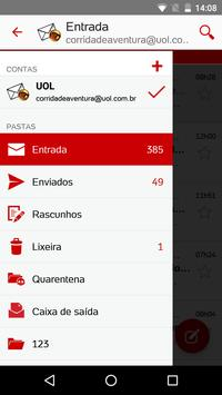 UOL Mail apk screenshot