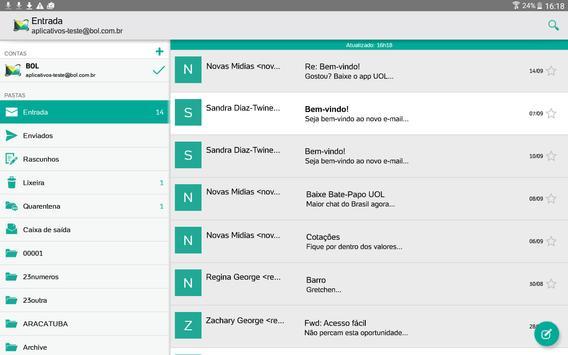 BOL Mail apk screenshot