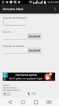 Amostra Ideal screenshot 1