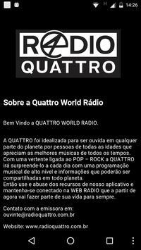 QUATTRO WORLD RADIO apk screenshot