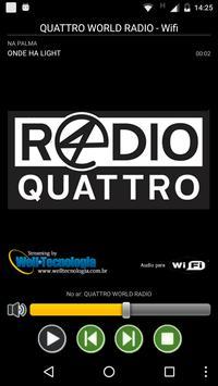 QUATTRO WORLD RADIO poster