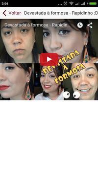 Melhores canais de maquiagem apk screenshot