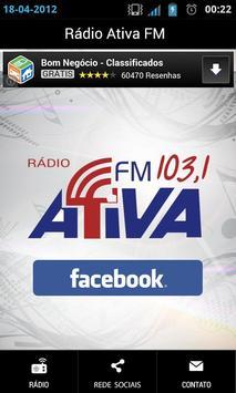 Rádio Ativa FM apk screenshot