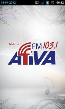 Rádio Ativa FM poster