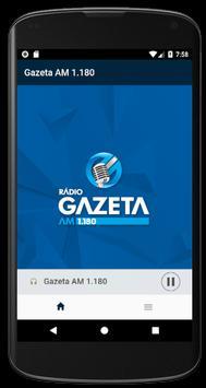 Rádio Gazeta AM 1.180 poster