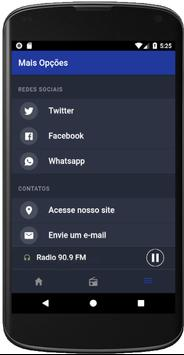 Rádio 90.9 apk screenshot