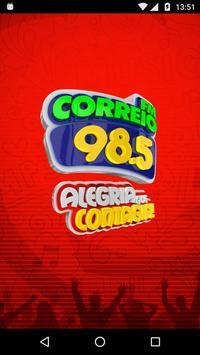 Correio FM 98.5 poster