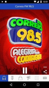 Correio FM 98.5 screenshot 1