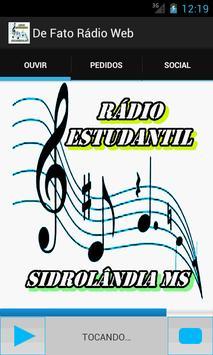 Rádio Estudantil poster