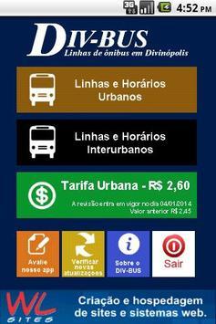 DIV-BUS - Linhas de Ônibus poster
