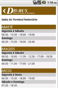 DIV-BUS - Linhas de Ônibus screenshot 7