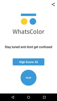 WhatsColor poster