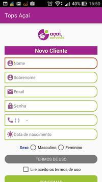 Top's Açaí apk screenshot