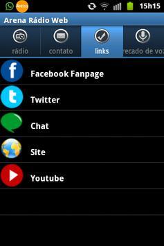 Arena Radio Web screenshot 1