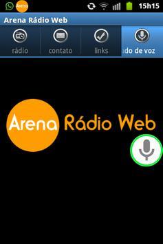 Arena Radio Web screenshot 2