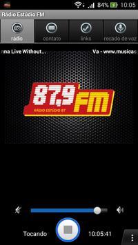 Rádio Estúdio 87 Fm poster