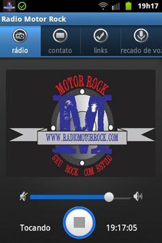 Radio Motor Rock poster
