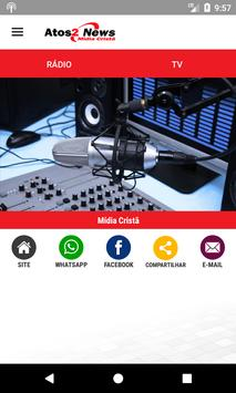 Rádio Atos2 screenshot 1