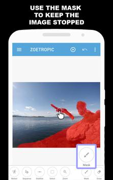 Zoetropic (free) - Photo in motion apk screenshot