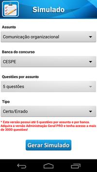 Administração Geral screenshot 1