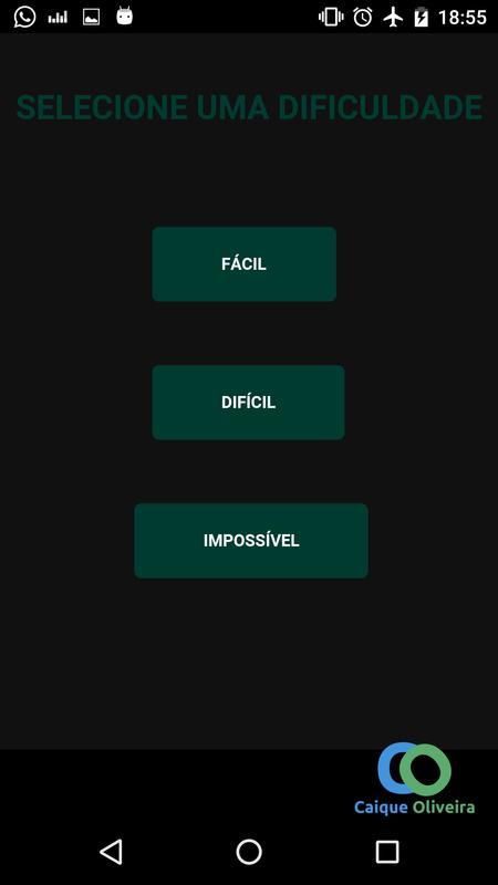 Jogo da cobrinha para android