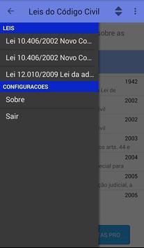 Leis Código Civil screenshot 1
