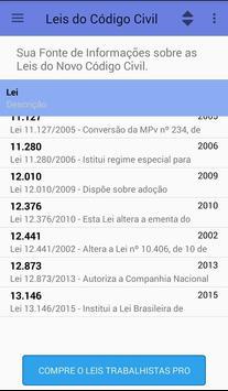 Leis Código Civil screenshot 2