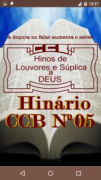 Hinário CCB Nº 05 poster