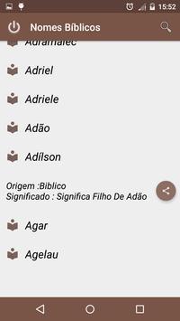 Nomes Biblicos screenshot 3