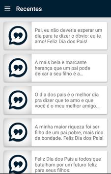 Frases Dia dos Pais screenshot 1