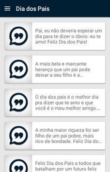 Frases Dia dos Pais screenshot 2