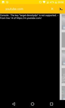 Console Browser screenshot 4