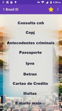 Brasil consulta identidade cnpj cpj detran ipva screenshot 5