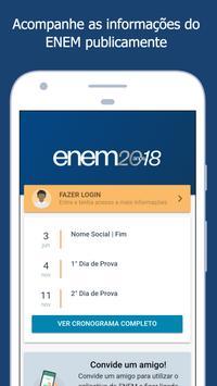 ENEM 2018 poster