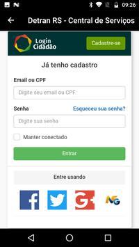 Central de Serviços DETRAN RS screenshot 1