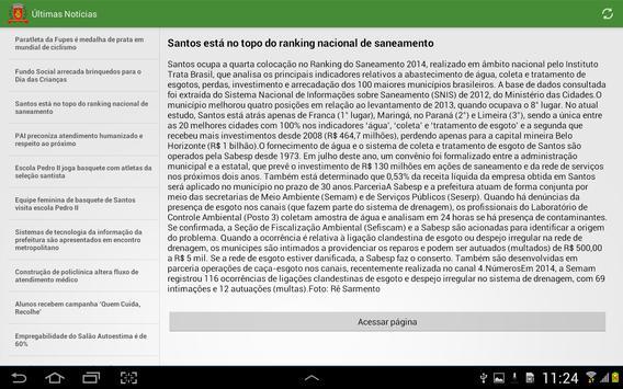 Notícias de Santos screenshot 3
