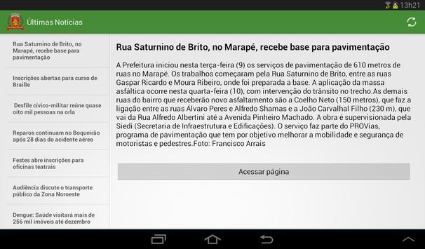 Notícias de Santos screenshot 5