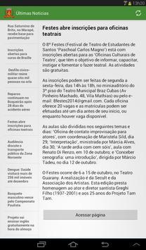 Notícias de Santos screenshot 6