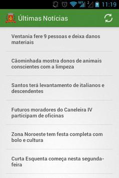 Notícias de Santos poster