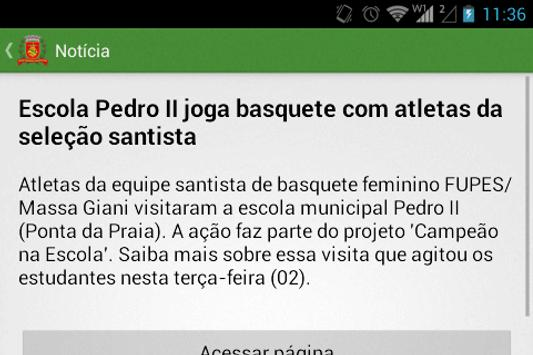 Notícias de Santos screenshot 2