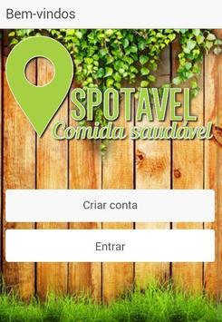 Spotavel -Localização saudável poster