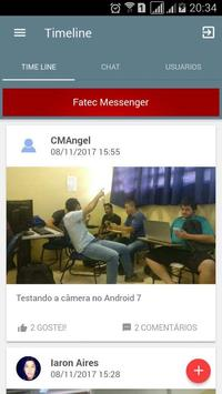 FATEC Messenger apk screenshot