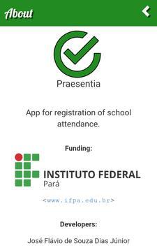 Praesentia - School Attendance apk screenshot