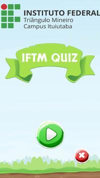 IFTM Quiz poster