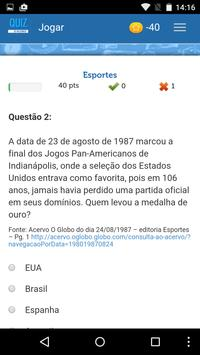 Quiz O Globo screenshot 2