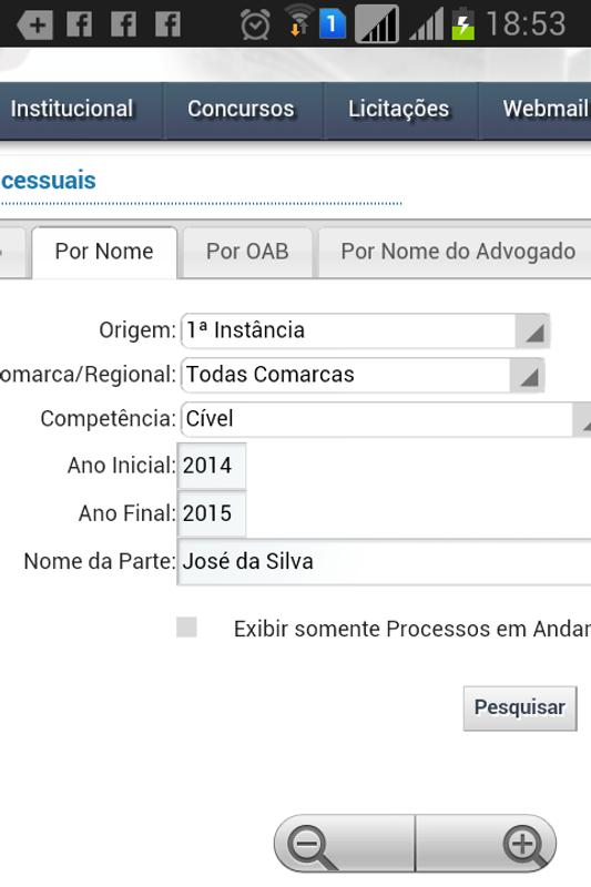 consulta processual tj rj for android apk download