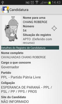 Candidaturas 2014 screenshot 5